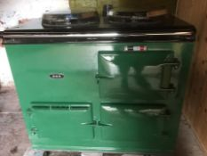Aga Gas Oven and Back Boiler