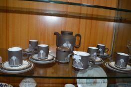 Hornsea Pottery Impact 1977 Pattern Retro Coffee S