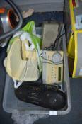 Food Slicer and Three Radios