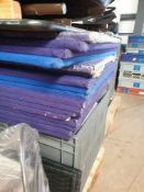 * 17 x blue felt notice boards - Collection Address Waltham Abbey, EN9 1FE - Collection Date 13th an