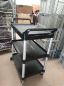 * 1 x 3 tier trolley with handles - Collection Address Waltham Abbey, EN9 1FE - Collection Date 13th
