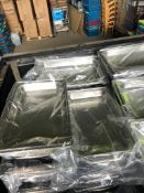 * 5 x chafing dishes. Frame, base and lid. NO INSERT. - Collection Address Grantham, NG32 2AG - Coll
