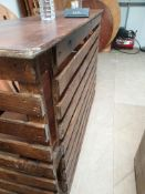 * 1 x Rustic Pallet Bar - 6ft in length - Collection Address Waltham Abbey, EN9 1FE - Collection Dat