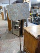 *Brass Standard Lamp