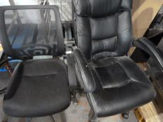 *Directors Chair and an Office Chair