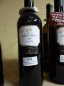 *Two 75cl Bottles of Marques De Riscal Limousin