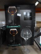 *Two Boxes of Six Chef & Sommelier Crystal Glasses