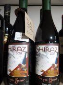 *Three 75cl Bottle of Shiraz 2017
