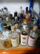 *Twenty Four Bottles of Assorted Spirits Including Gin, Vodka, Cassis, etc.
