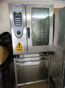 *Rational Self Cooking Centre Comb Oven on Stand
