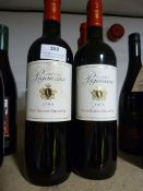 *Six 75cl Bottles of Chateau Piganeau 2005