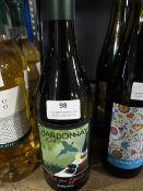 *Three 75cl Bottles of Fowles Wine Chardonnay 2018