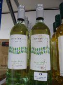 *Six 75cl Bottles of Primera Luz Sauvignon Blanc