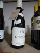 *Two 75cl Bottles of 2016 Mercurey White Wine