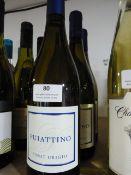 *Three 75cl Bottles of Puiattino Pino Grigio