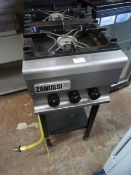 *Zanussi Two Ring Gas Hob on Stand