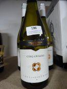 *Three 75cl Bottle of Sinq Cepages Cotes du Rhone