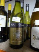 *Three 75cl Bottles of Mad Fish Australian White Wine