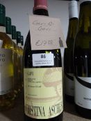 *Four 75cl Bottles of Gavi Christina Ascheri