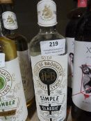 *500ml Bottle of House of Broughton Natural Simple Syrup