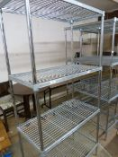 *Section of Four Tier Racking