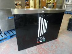 *Portable Bar with Shelves ~5ft x 2ft x 43 with Carrying Cases