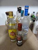 *Nine Bottles of Assorted Vodka and Rum Including Havana Club, Smirnoff, Plantation, 3 Stars, etc.