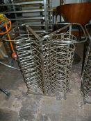 *Stainless Steel Plate Rack