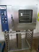 *Rational CD6 Combi Oven on Tray Rack Stand