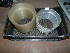 *Mixed Quantity of Plastic and Metal Plate Stands