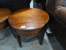 *Small Reproduction Side Table ~50cm diameter x 46cm high