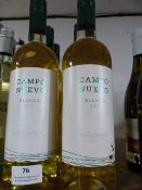 *Six 75cl Bottles of Campo Nuevo 2015 White Wine