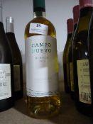*Five 75l Bottles of Campo Nuevo 2015 Navarra White Wine