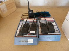 *Five Two Way Radios with Chargers