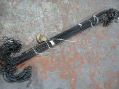 *40 Shepherds Crooks Lantern Spikes - Approx 4ft Long