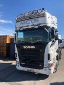 *Scania R650 V8 6X2/4 Lorry, Reg: MX57 LXR, Mileage: 1.4M km