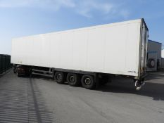 *Scmitz 2008 SK024L Trailer, with Vector 1850 Refrigeration Unit S/N RB803112