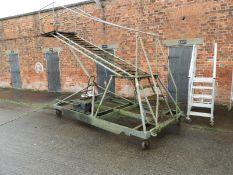 Hydraulic Aviation Style Access Ladder