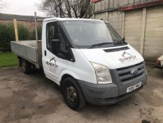 *2008 FORD TRANSIT 350L 100, 2402cc Diesel, Manual, Gross Weight: 3500kg, Payload: 1600kg (YS57MKX)