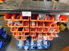 *Parts Bin Trolley with various parts