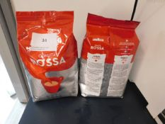 *2x Rossa 1kg coffee beans