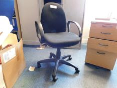 *Charcoal office chair