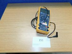 *Fluke 175 True RMS Multimeter with power supply (not shown)