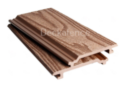 * 25 boards x WPC Wall Cladding, size 2.8m x 148mm x 21mm Coffee Brown Wood Embossed Finish (covers