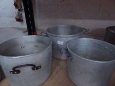 * 3 x cooking pots