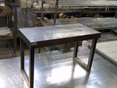 * S/S appliance shelf. 650w x 300d x 400h
