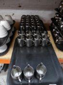 * 35 x S/S milk jugs