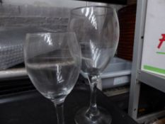 * large quantity wine glasses