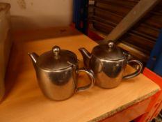 * 36 x S/S tea pots