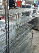 * 6 shelf wire racking. 1500w x 450d x 1880h